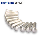 铝合金半空心铆钉,半空心铝铆钉,铝扁圆头铆钉